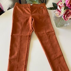 CALVIN KLEIN PANTS Straight Slit Size M medium